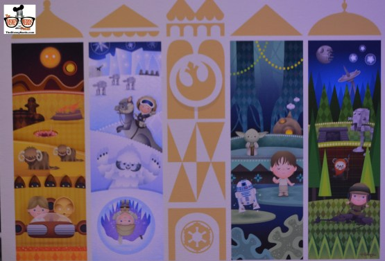 Mary Blair inspired Star Wars Merchandise in the X-Wing Collection