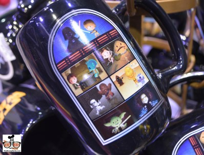 Mary Blair inspired Star Wars coffee mug in the X-Wing Collection