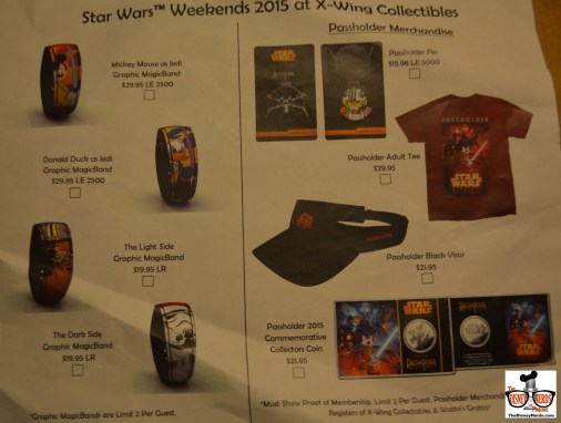 Weekend #1 Limited Edition Merchandise available at X-Wing Collection