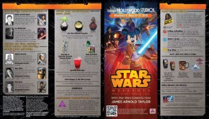 Star Wars Weekend 2015 Weekend #1 Map and Times Guide