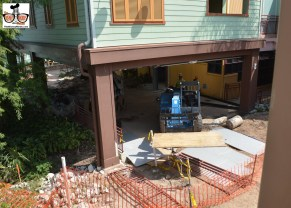Construction is in hi gear
