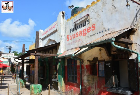 """The Harambe Market """"Famous Sausages"""""""