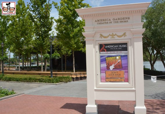 """American Garden Theater - """"American Music"""" moved in and Voices of Liberty are back inside. That didn't last long.."""