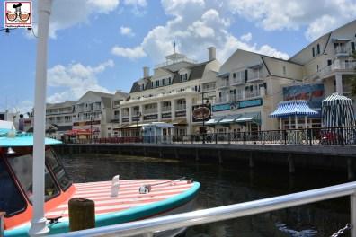 Quick boat ride to Boardwalk..