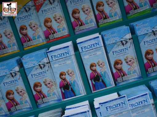Frozen Summer Fun and Times Guides at Hollywood Studios