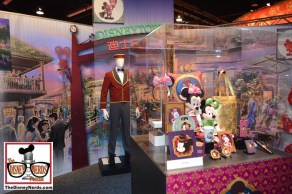 The Disney Parks and Resorts exhibit included lots of details regarding Disneyland Shanghai