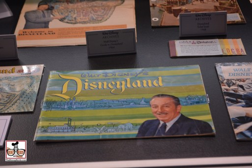 Disneyland a Pictorial Souvenir, part of the Archives Exhibit