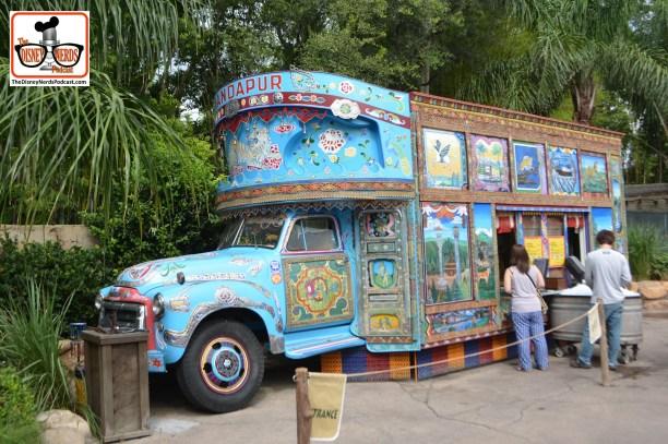 The Original Disney Food Truck - Animal Kingdom