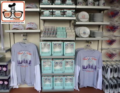Food and Wine 20th anniversary merchandise.