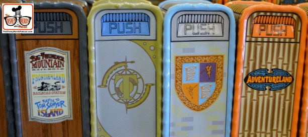 Salt and Pepper shaker garbage cans... Mix and Match