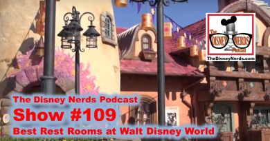 The Disney Nerds Podcast Show #109: Best Restroom at Walt Disney World