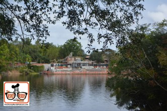 2015-12 - Animal Kingdom - Rivers of Light Construction Continues
