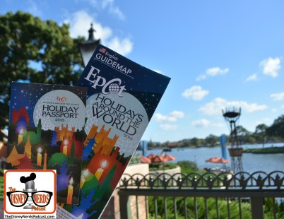 "2015-12 - Epcot - The Holidays are in full Swing at Epcot's ""Holidays Around the World"" - Including a new Holiday Passport"