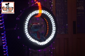"2015-12 - Hollywood Studios -Osborne Lights - Lots of hidden ""Stuff"" - Stitch"