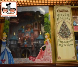2015-12 - Magic Kingdom - New Holiday Merchandise - a cross between Sleeping Beauty and Cinderella's Castle... Available at the Disney Store and on-line also
