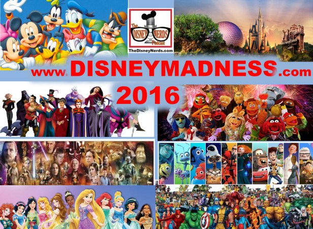 Disney Madness 2016: The Ultimate Disney Character
