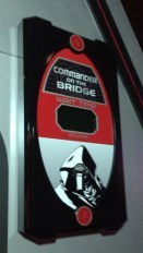 Walt Disney World News February 7, 2016. Kylo Ren is the new Commander on the Bridge starting this morning at Star Wars Launch Bay in Hollywood Studios