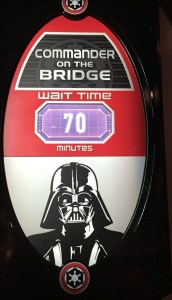 Walt Disney World News February 7, 2016. Darth Vader who had been attracting huge lines at Star Wars Launch Bay was replaced by Kylo Ren this morning