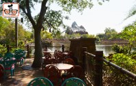 DNP April 2016 Photo Report: Animal Kingdom: Rivers of Light a view from Flame tree Barbecue. - these seats will go fast I'm sure.