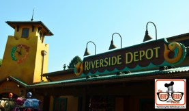 DNP April 2016 Photo Report: Animal Kingdom: Riverside Depo looks like it was always there.