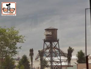 DNP April 2016 Photo Report: Disney Springs: I can 100% verify that the new Water Tower at Disney Springs is NOT the old Earful tower from Hollywood Studios - The Earful tower can still been seen when watching Star Wars Fireworks - Wishful thinking... but it's a new water tower,