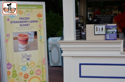DNP April 2016 Photo Report: Epcot Flower and Garden Festival.. Frozen Strawberry-Lemon Sunset