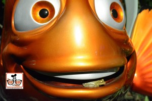 DNP April 2016 Photo Report: Epcot Flower and Garden Festival.. Nemo - with a frog in his mouth - I'm sure he is taking it home..