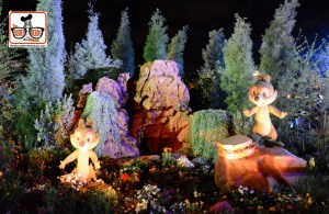 DNP April 2016 Photo Report: Epcot Flower and Garden Festival.. Topiary's at Beautiful lighting.