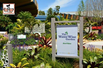 DNP April 2016 Photo Report: Epcot Flower and Garden Festival. The Water Wise Garden near Energy