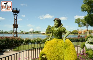 DNP April 2016 Photo Report: Epcot Flower and Garden Festival. Snow White