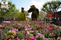 DNP April 2016 Photo Report: Epcot Flower and Garden Festival - France for Breakfast - It's a MUST DO on your next trip! It's like having the country to yourself...