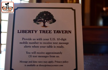 DNP April 2016 Photo Report: Magic Kingdom: The system first introduced at the skipper canteen is now being used in other locations. You get a txt when your table is ready...