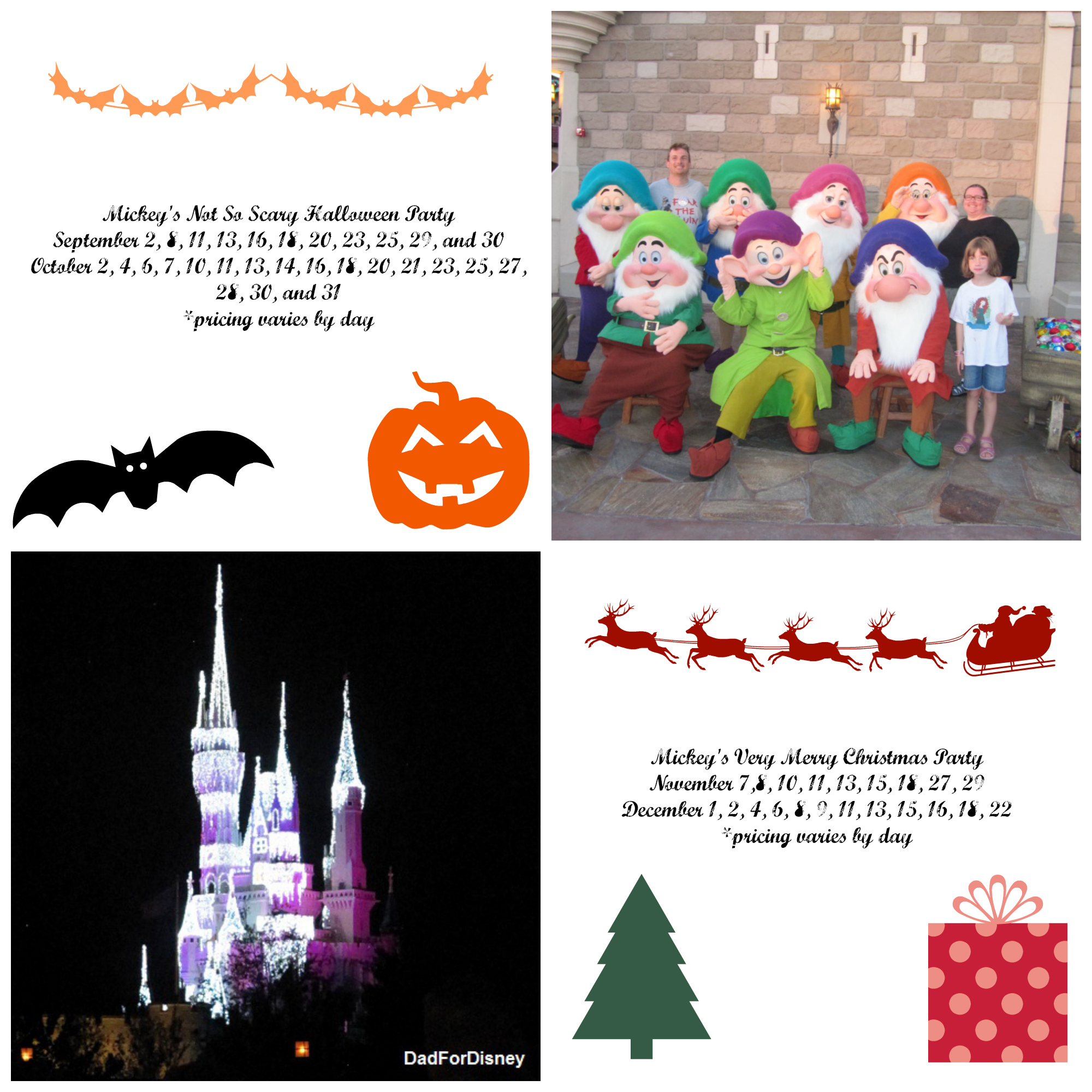 Disney S Very Merry Christmas Party Tickets: Tickets Available For Mickey's Not So Scary Halloween