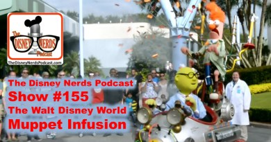 The Disney Nerds Podcast Show #155 - a Muppet Infusion