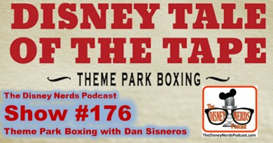 The Disney Nerds Podcast Show #176: Theme Park Boxing