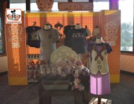 Epcot Legacy Showplace - Set up for Epcot 35 Merchandise, but not just yet - display is currently Food and Wine Festival merch - That will change soon #Epcot35