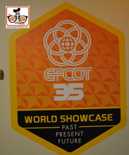 Epcot Legacy Showplace - World Showcase - Past Present and Future #Epcot35