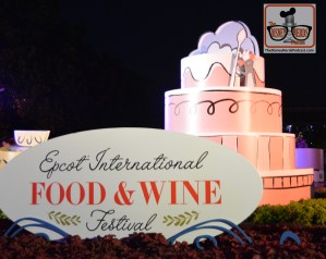 Night Falls on the Epcot Food and Wine Festival 2017