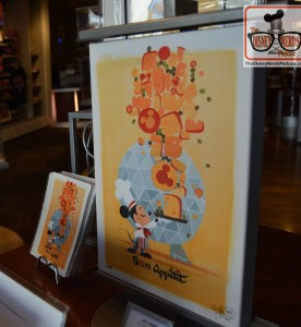 "Bon Appetit - Festival Art available in ""Art of Disney"" Store"