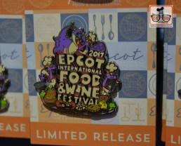 Epcot Food and Wine Festival logo Pin