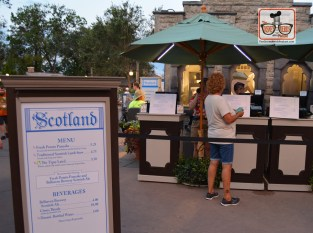 Scotland is located between the UK and Canada at this years food and wine festival