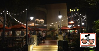 Outside Night View of the Baseline Tab House