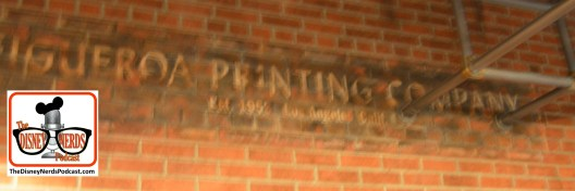 Per Story: The Baseline Tap House was home to the Figueroa Printing Company in Burbank - you can still see the logo