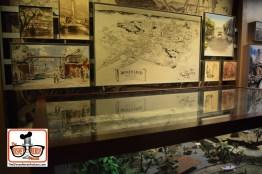 New Exhibits inside Walt Disney Presents