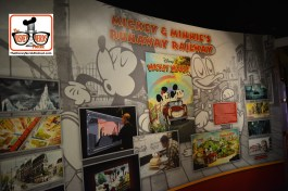 Concept Art for Mickey and Minnie's Runaway railroad
