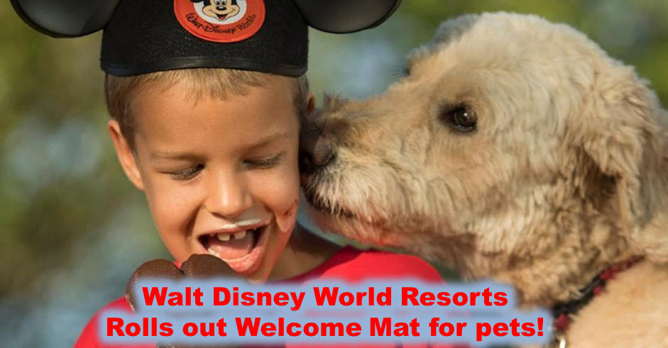 Pluto Welcomes New Friends to Walt Disney World Resort