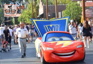 Lighting McQueen in his Haul-o-ween costume