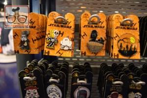 Star wars Halloween Pins at Disneyland