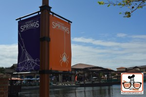 Halloween Decorations and Music, all over Disney Springs