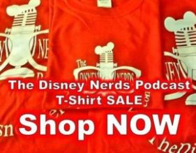 The Disney Nerds Podcast T-Shirt Shop